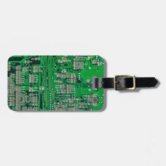 Etiqueta Para Maletas Placa de circuito