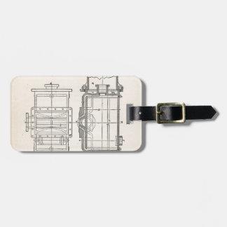 Etiqueta Para Maletas Pocletbook del mecánico