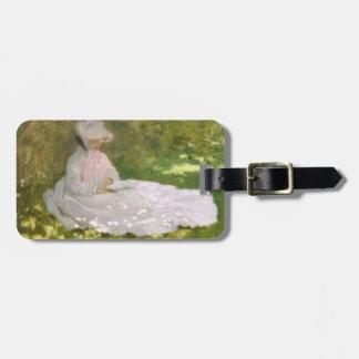 Etiqueta Para Maletas Primavera de Claude Monet