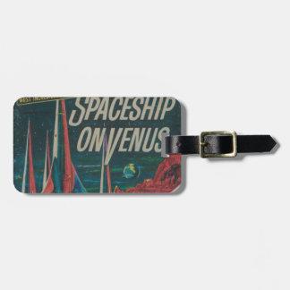 Etiqueta Para Maletas Primera nave espacial en la película del Scifi del