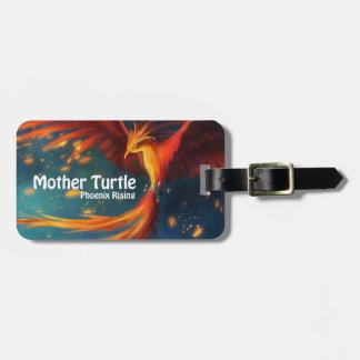Etiqueta Para Maletas Productos de la tortuga de la madre