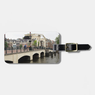 Etiqueta Para Maletas Puente flaco, Amsterdam, Holanda