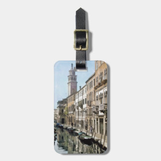 Etiqueta Para Maletas Río Ognissanti, Venecia