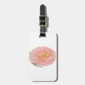 Etiqueta Para Maletas Rosa en colores pastel subió