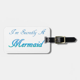 Etiqueta Para Maletas Sirena secreta