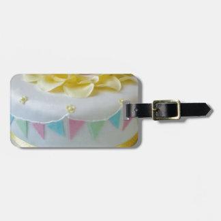 Etiqueta Para Maletas torta _birthday 2