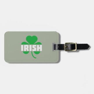 Etiqueta Para Maletas Trébol irlandés Z2n9r del cloverleaf