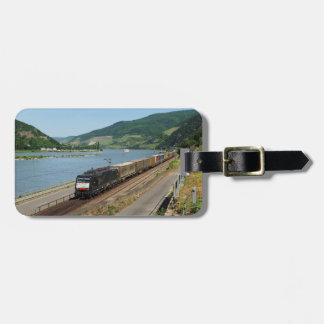 Etiqueta Para Maletas Tren de carga en Assmanshausen a la rin
