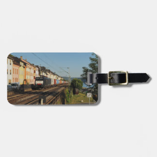 Etiqueta Para Maletas Tren de carga en Lorchhausen a la rin