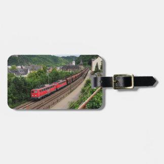 Etiqueta Para Maletas Tren de carga en St. Goar