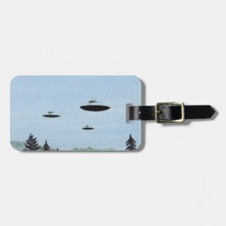 Etiqueta Para Maletas Trío del UFO