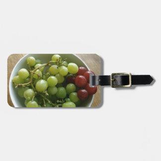 Etiqueta Para Maletas uvas