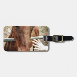 Etiqueta Para Maletas Vida del caballo