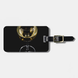 Etiqueta Para Maletas vidrio del champán