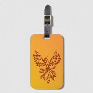 Etiqueta Para Maletas Vuelo de una Phoenix