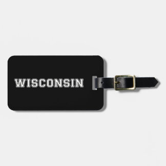 Etiqueta Para Maletas Wisconsin
