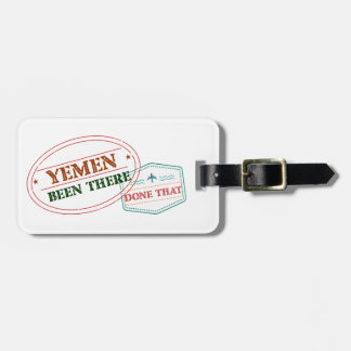 Etiqueta Para Maletas Yemen allí hecho eso