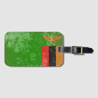 Etiqueta Para Maletas Zambia