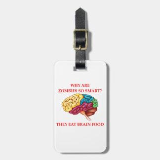 Etiqueta Para Maletas zombis