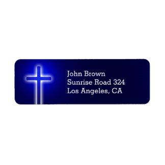 Etiqueta Parte cristiana de la cruz el   su fe