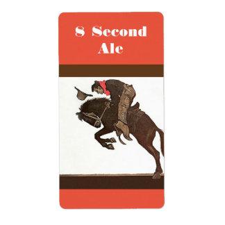 Etiqueta personalizada de la cerveza inglesa de la etiquetas de envío