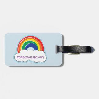 Etiqueta personalizada el | del equipaje del ARCO