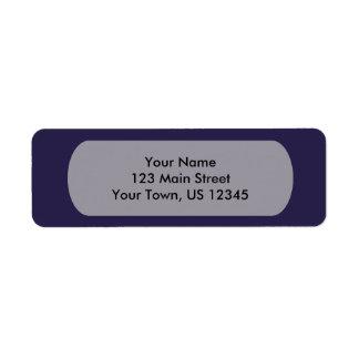 Etiqueta Plantilla de los azules marinos