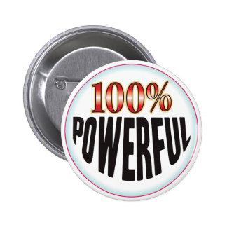 Etiqueta potente pin
