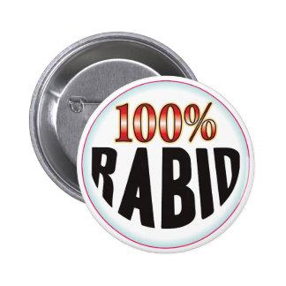 Etiqueta rabiosa pin