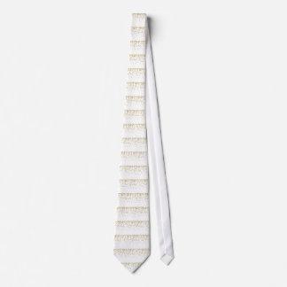 Etiqueta rayada del equipaje del monograma corbata personalizada