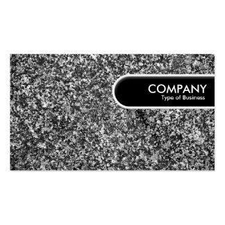 Etiqueta redondeada del borde - granito tarjetas de visita