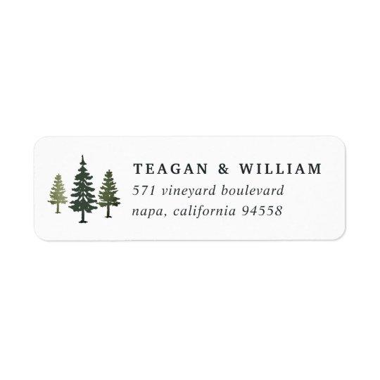 Etiqueta Remite de los pinos altos