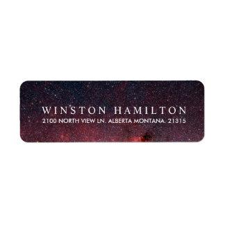 Etiqueta Remite personalizado el | caliente de la nebulosa