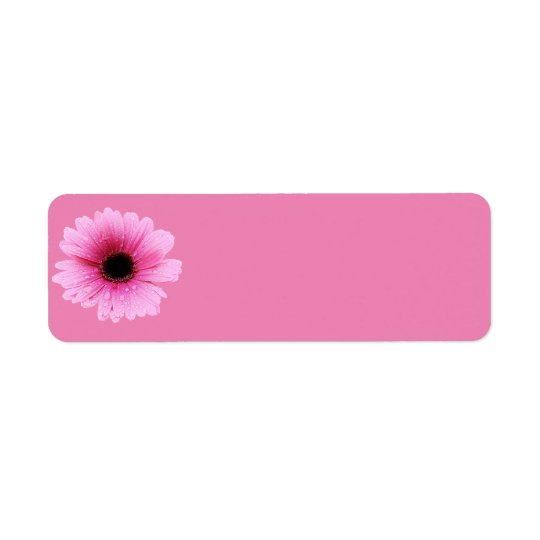 Etiqueta Rosa de la margarita
