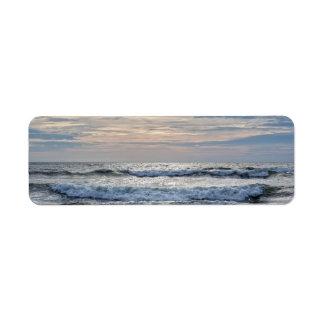 Etiqueta Salida del sol de Virginia Beach