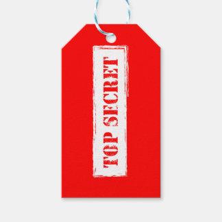 Etiqueta secretísima del regalo etiquetas para regalos