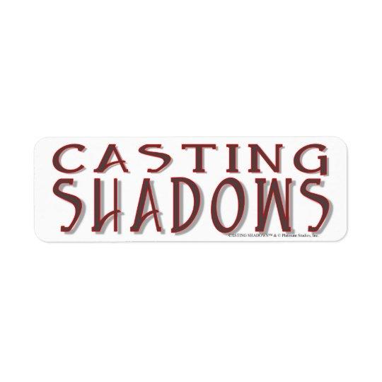 Etiqueta Sombras del bastidor - estudios del platino