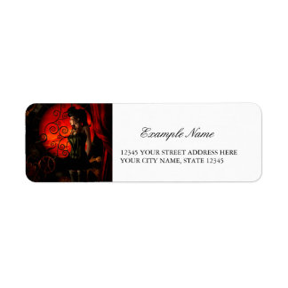 Etiqueta Steampunk, señora maravillosa del steampunk en la