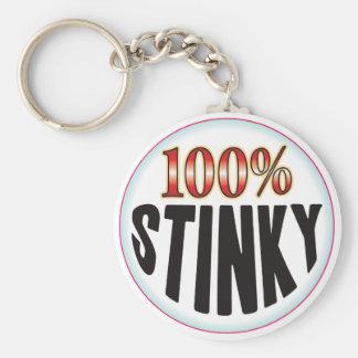 Etiqueta Stinky Llavero