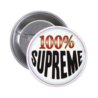 Etiqueta suprema chapa redonda de 5 cm