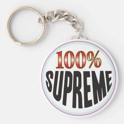 Etiqueta suprema llavero