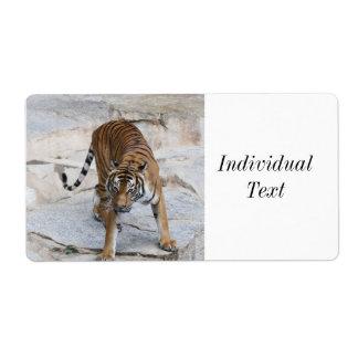 Etiqueta Tigre 1216 AJ
