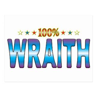 Etiqueta v2 de la estrella del Wraith Postales