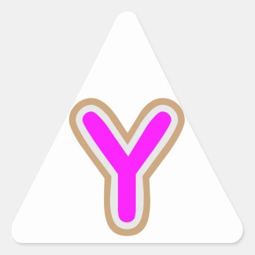 Etiqueta y REGALOS del nombre del ALFABETO de YYY