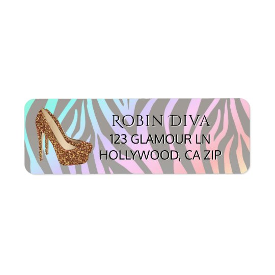 Etiqueta Zapatos atractivos del tacón alto de la diva del