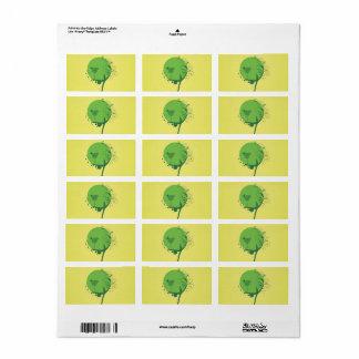 Etiquetas abstractas del árbol