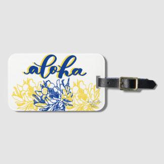 Etiqueta Para Maletas Etiquetas amarillas azules del equipaje del cirio