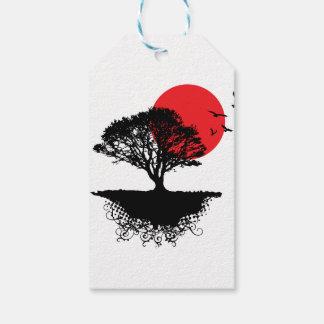Etiquetas asiáticas del regalo de la salida del etiquetas para regalos