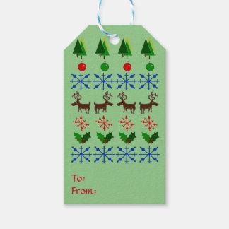 Etiquetas astutas y creativas del regalo del etiquetas para regalos