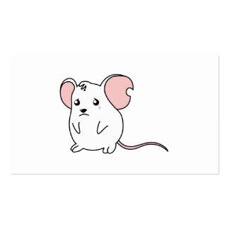 Etiquetas blancas gritadoras tristes del sello de plantillas de tarjetas de visita